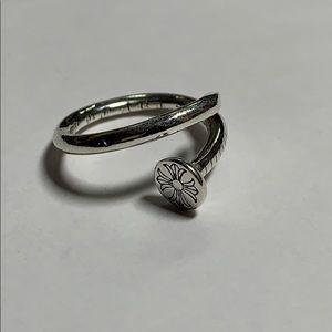 Chrome hearts nail ring size 7